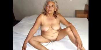 HelloGrannY Hot Latin Matures Showing off Naked