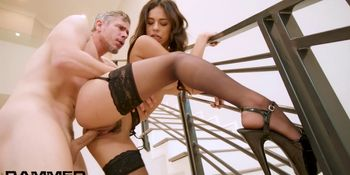 Rammed Autumn Falls gets fucked RAW and loves it