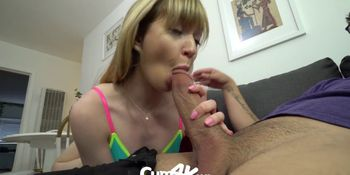Step Bro Pumps Multiple Creampie Loads Into Step Sis