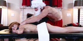 Brazzers - Dirty Masseur - Marie McCray Johnny Sins - Shiatsu Santa