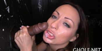 Indecent and wild blowjob