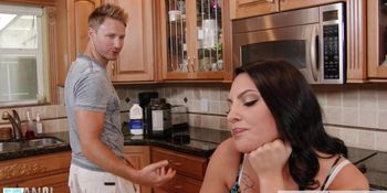 Naughty Rachel Madori gets ass toyed and fucked