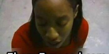 Cutie black girlfriend on her part4