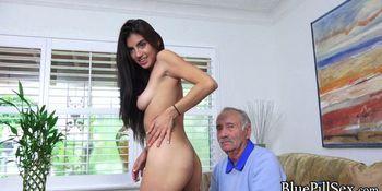 Grandpa gets his wish
