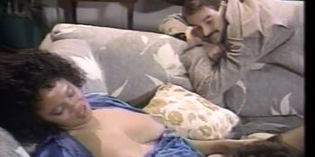 Pearls On Retro Mom In Dike And Dick Sharing Scene