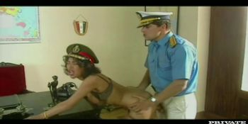 Julia with her Perfect Tits Enjoys Anal Sex