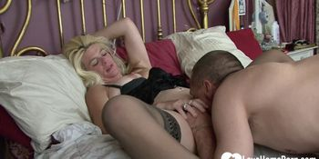 Horny wife gets fucked by her husband