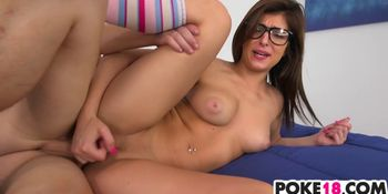 Teen Leah Gotti Gets Big Dicked