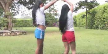 Gigi Spice and Isabella lesbian fun