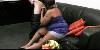 He lures huge ebony plumper into sex