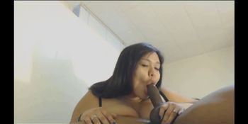 Chubby asian power fucked by BBC