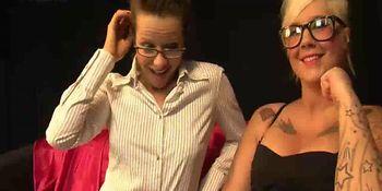 amica lesbica doppio fisting