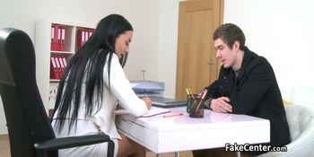Dude creampied hot casting agent