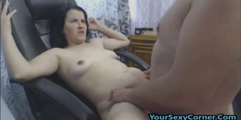 Banged My Wife So Hard That She Screamed And Cum On Her