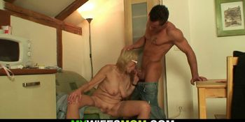 Girlfriends oldest mom is horny bitch