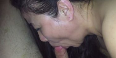 Punched in balls blowjob